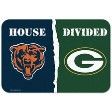 """Chicago Bears v. Bay Packers """"House Divided"""" Doormat"""