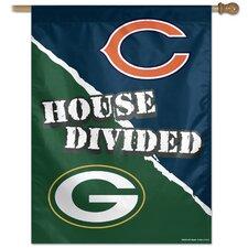 """NFL """"House Divided"""" Flag"""