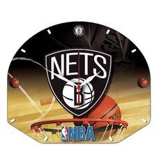 NBA Plaque Wall Clock