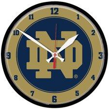 "Notre Dame 12.75"" Wall Clock"