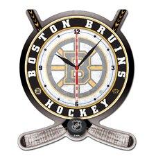 NHL Plaque Wall Clock