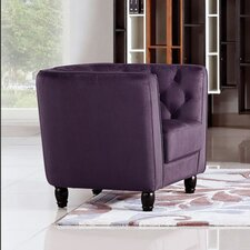 Bellini Button Tuft Club Chair