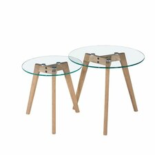 Monarch 2 Piece Nesting Table