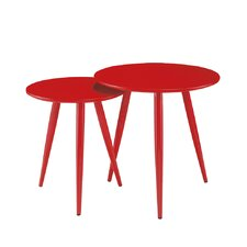 DUO 2 Piece Nesting Table Set