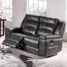 Duncan Leather Reclining Loveseat