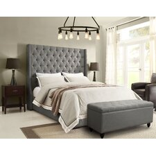 Park Avenue Upholstered Platform Bed