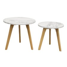 Pebble 2 Piece Nesting Tables (Set of 2)