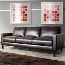 Omega Full Leather Sofa
