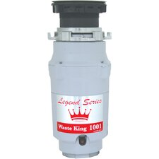 Legend Series 1/2 HP EZ-Mount Garbage Disposal with Continuous Feed
