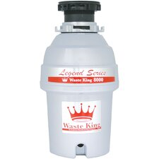 Legend Series 1 HP EZ-Mount Garbage Disposal with Continuous Feed