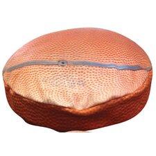 Round Basketball Dog Pillow