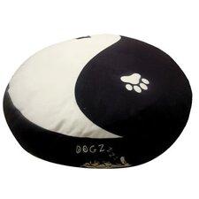 Round Yin Yang Dog Pillow