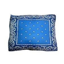 Rectangle Bandana Dog Pillow