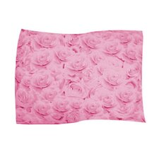 Pink Rose Pet Throw