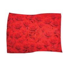 Red Rose Pet Throw