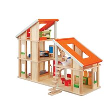 Chalet Dollhouse with Furniture