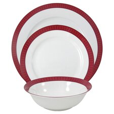 Madison 12 Piece China Dinnerware Set