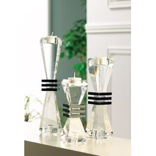 Deco Crystal Candlestick