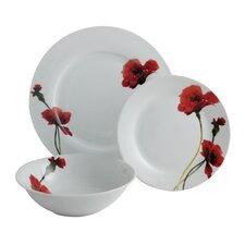 Breeze 12 Piece Porcelain Dinnerware Set