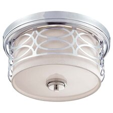 Harlow 2 Light Flush Mount