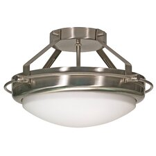 Polaris Semi Flush Mount