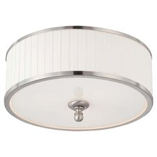 Emma 3 Light Flush Mount