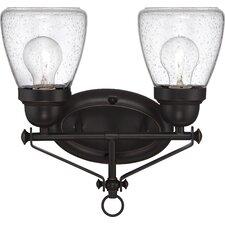Laurel 2 Light Vanity Light