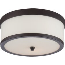 Celine 2 Light Flush Mount