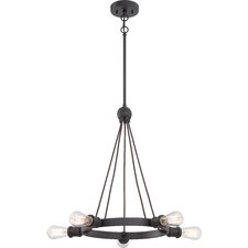 Paxton 5 Light Mini Chandelier