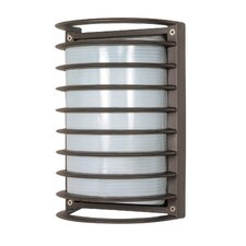 Cage 1 Light Outdoor Bulkhead Light