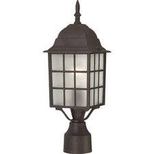 Adams 1 Light Outdoor Post Light