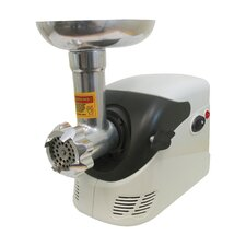 Electric Number 5 Deluxe Meat Grinder with Shredder