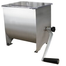 20lb Capacity Stainless Steel Manual Mixer