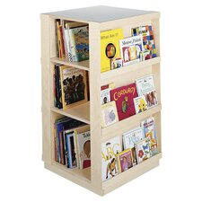 Big 4 Sided Library Book Display