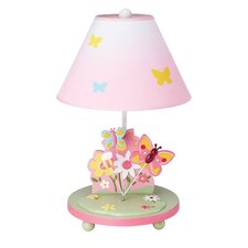 """Butterfly Buddies 19"""" H Table Lamp with Empire Shade"""