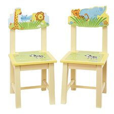 Savanna Smiles Kids Desk Chair (Set of 2)
