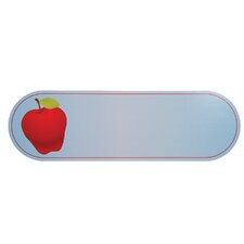 Sign Apple Wall Plaque