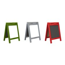 Mini Message Free-Standing Chalkboard, 1' H x 1' W (Set of 3)