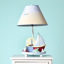 """Sailing 19"""" H Table Lamp with Empire Shade"""