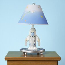 "19"" H Rocket Lamp with Empire Shade"
