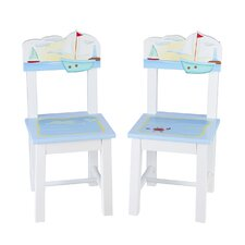 Sailing Kids 2 Piece Chairs Set