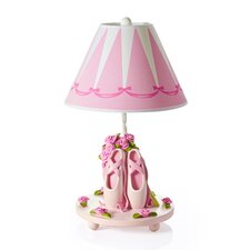 """19"""" H Ballet Bouquet Lamp with Empire Shade"""