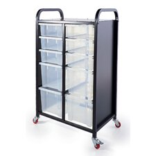 Take Along Storage Cart with Bin