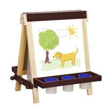 Folding Marker Tray Double Sided Flipchart Easel (Set of 2)