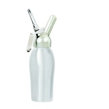 Professional 1 Pint Cream Whipper in Brushed Stainless Steel