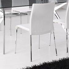 2-tlg. Esszimmerstuhl-Set Easy aus Echtleder