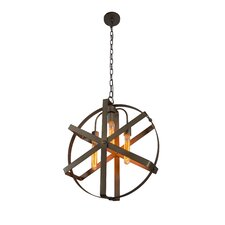 Reel 3 Light Foyer Pendant