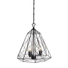 Wright Stuff 3 Light Foyer Pendant