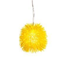 Urchin Mini Pendant in Un-Mellow Yellow