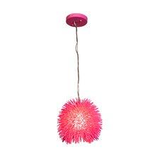 Urchin Mini Pendant in Hot Pink
